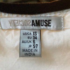 Amuse Society Dresses - Amuse society topaz long sleeve dress